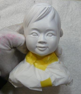 雛人形(ひな人形)制作過程-27
