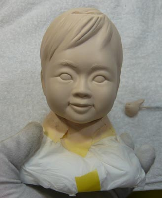 雛人形(ひな人形)制作過程-28