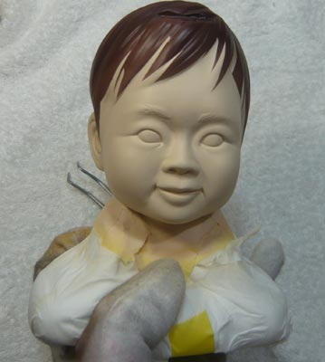 雛人形(ひな人形)制作過程-30