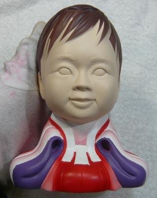 雛人形(ひな人形)制作過程-34