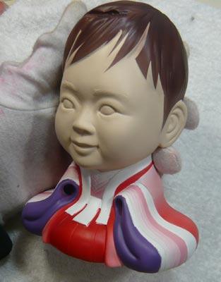 雛人形(ひな人形)制作過程-36