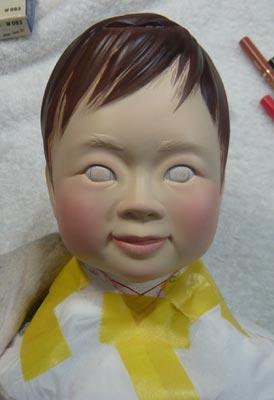 雛人形(ひな人形)制作過程-42