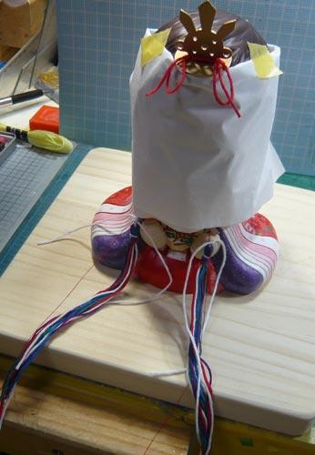 雛人形(ひな人形)制作過程-45