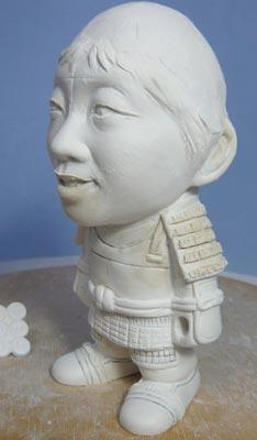 真田幸村風の赤備え甲冑(武者人形)!!五月人形の制作過程-47
