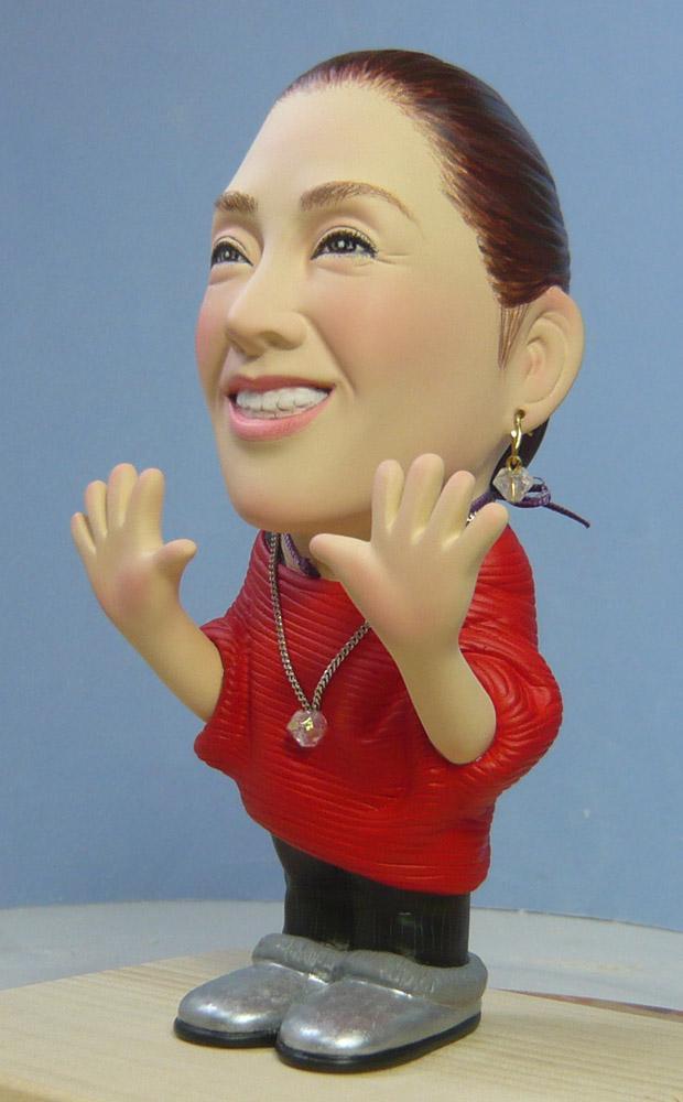 奥様へ(旦那様からの誕生日プレゼント)-そっくり人形参考作品例-58-2