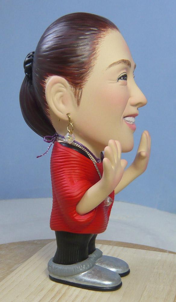 奥様へ(旦那様からの誕生日プレゼント)-そっくり人形参考作品例-58-3