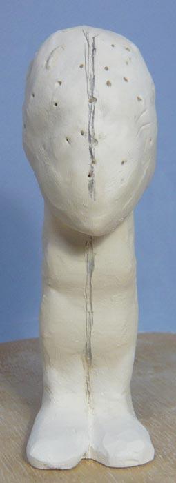 奥様へ(旦那様からの誕生日プレゼント)-そっくり女性人形制作過程-04
