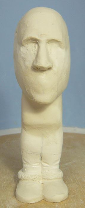奥様へ(旦那様からの誕生日プレゼント)-そっくり女性人形制作過程-06