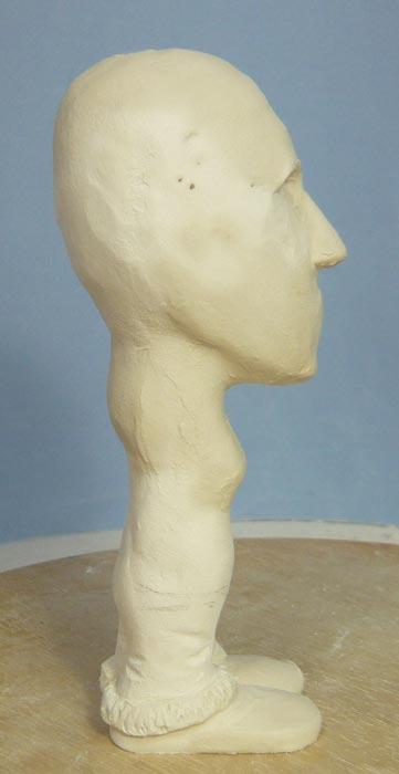 奥様へ(旦那様からの誕生日プレゼント)-そっくり女性人形制作過程-07