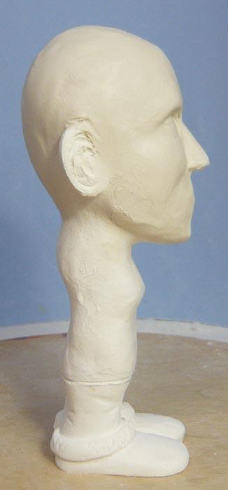 奥様へ(旦那様からの誕生日プレゼント)-そっくり女性人形制作過程-11