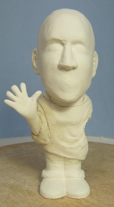 奥様へ(旦那様からの誕生日プレゼント)-そっくり女性人形制作過程-15