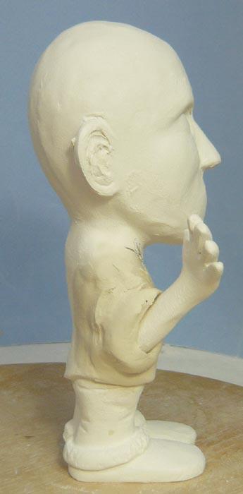 奥様へ(旦那様からの誕生日プレゼント)-そっくり女性人形制作過程-16