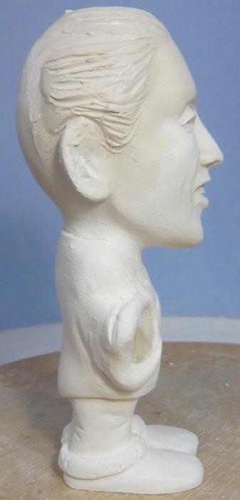 奥様へ(旦那様からの誕生日プレゼント)-そっくり女性人形制作過程-30
