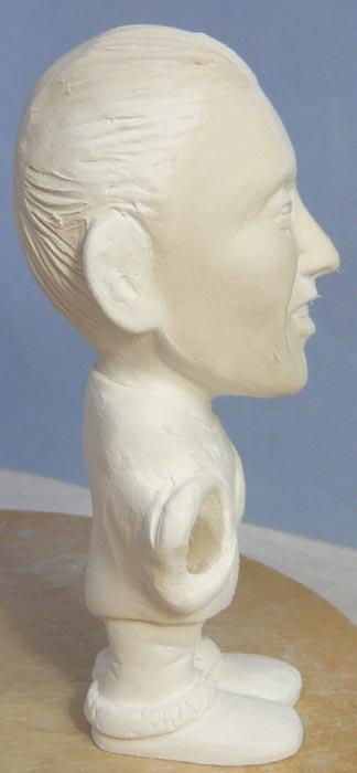 奥様へ(旦那様からの誕生日プレゼント)-そっくり女性人形制作過程-34