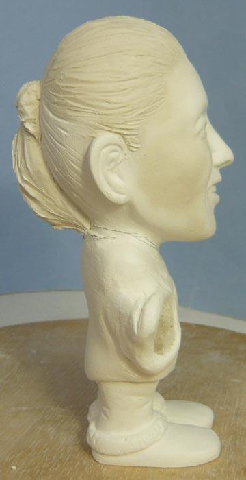 奥様へ(旦那様からの誕生日プレゼント)-そっくり女性人形制作過程-37