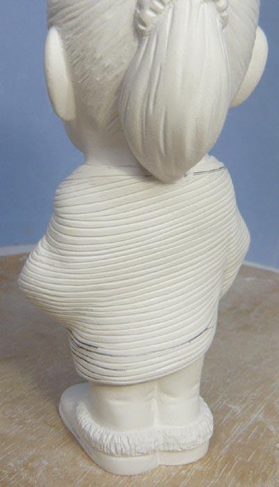 奥様へ(旦那様からの誕生日プレゼント)-そっくり女性人形制作過程-52