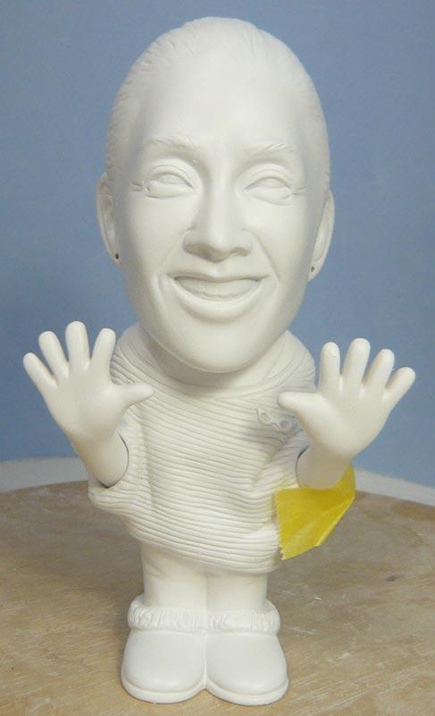 奥様へ(旦那様からの誕生日プレゼント)-そっくり女性人形制作過程-54