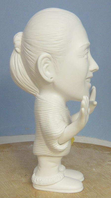 奥様へ(旦那様からの誕生日プレゼント)-そっくり女性人形制作過程-55