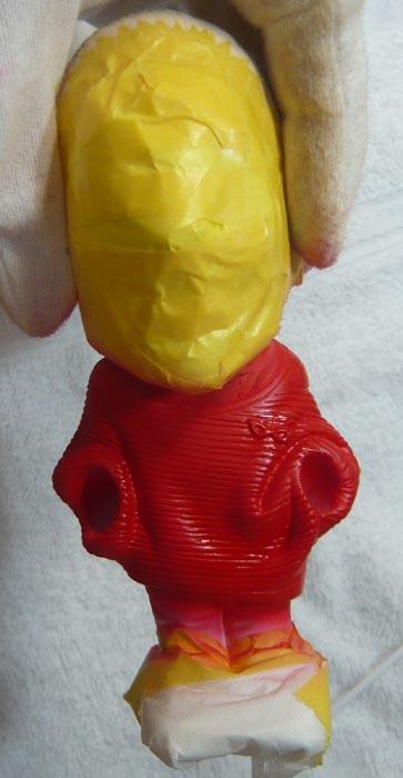 奥様へ(旦那様からの誕生日プレゼント)-そっくり女性人形制作過程-60