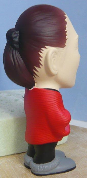 奥様へ(旦那様からの誕生日プレゼント)-そっくり女性人形制作過程-66