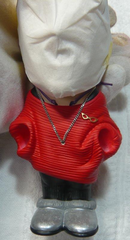 奥様へ(旦那様からの誕生日プレゼント)-そっくり女性人形制作過程-69
