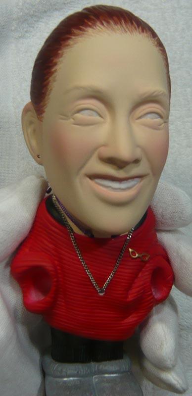 奥様へ(旦那様からの誕生日プレゼント)-そっくり女性人形制作過程-71