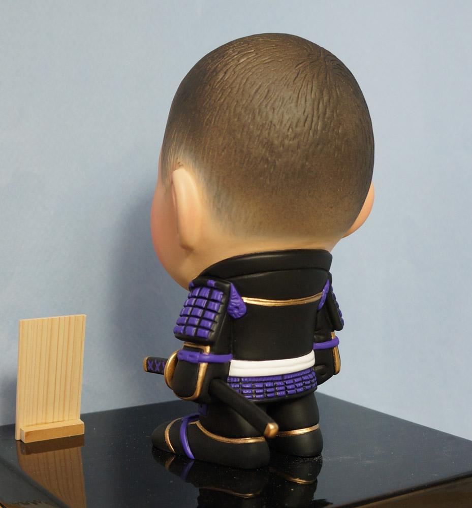 ご兄弟揃っての節句人形!!坊主あたまの可愛い武者鎧姿-そっくり人形参考作品例-59-8