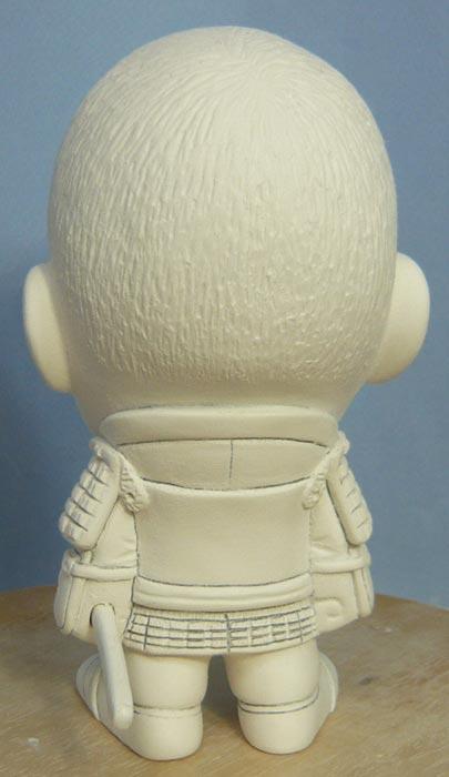 ご兄弟揃っての節句人形!!坊主あたまの可愛い武者鎧姿の制作過程-55