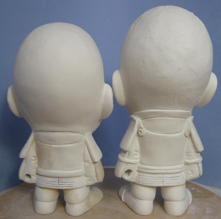 ご兄弟揃っての節句人形!!坊主あたまの可愛い武者鎧姿の制作過程-40