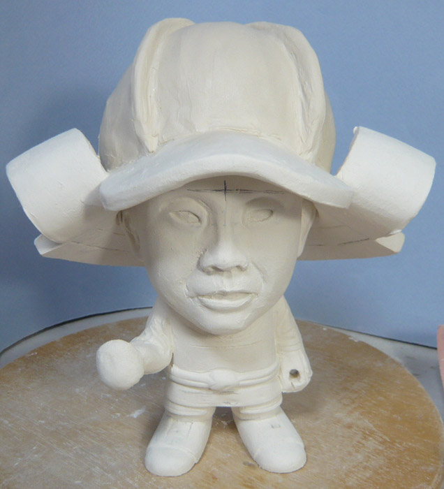 句人形!!かわいい鎧姿の制作過程-21