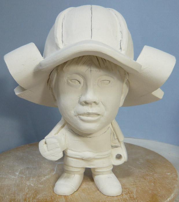 句人形!!かわいい鎧姿の制作過程-28