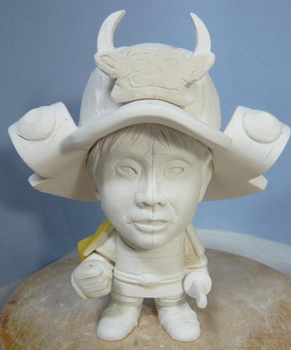 句人形!!かわいい鎧姿の制作過程-33