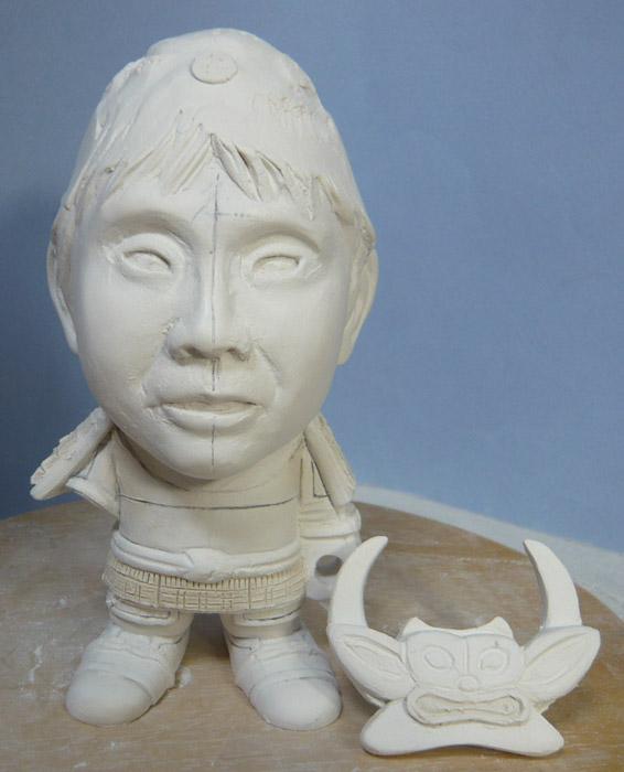 句人形!!かわいい鎧姿の制作過程-34