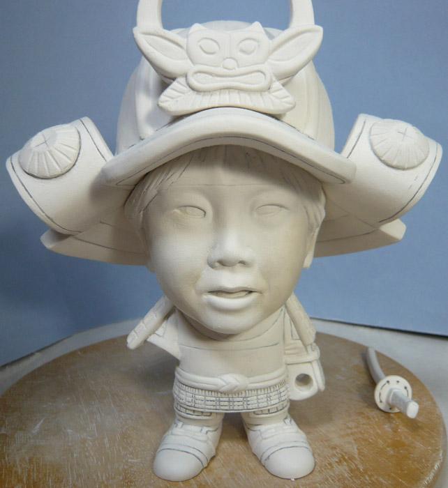 句人形!!かわいい鎧姿の制作過程-39