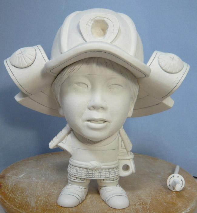 句人形!!かわいい鎧姿の制作過程-40