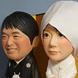 ウェルカムドール・素敵な和装・脱着式綿帽子-そっくり人形参考作品例-60