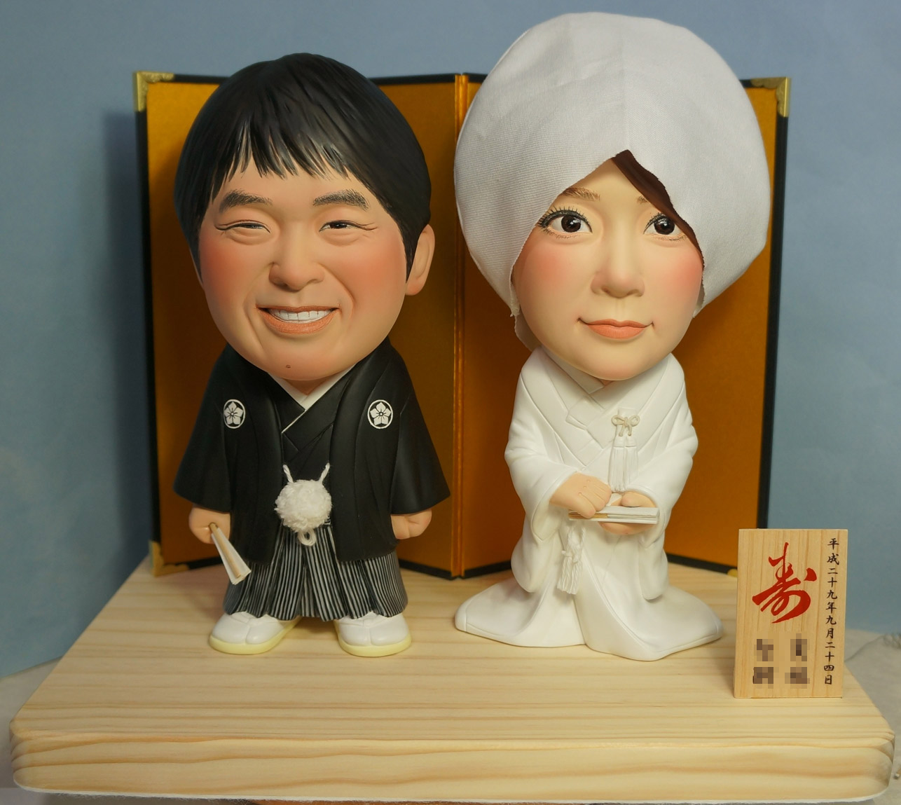 ウェルカムドール・素敵な和装・脱着式綿帽子-そっくり人形参考作品例-60-1