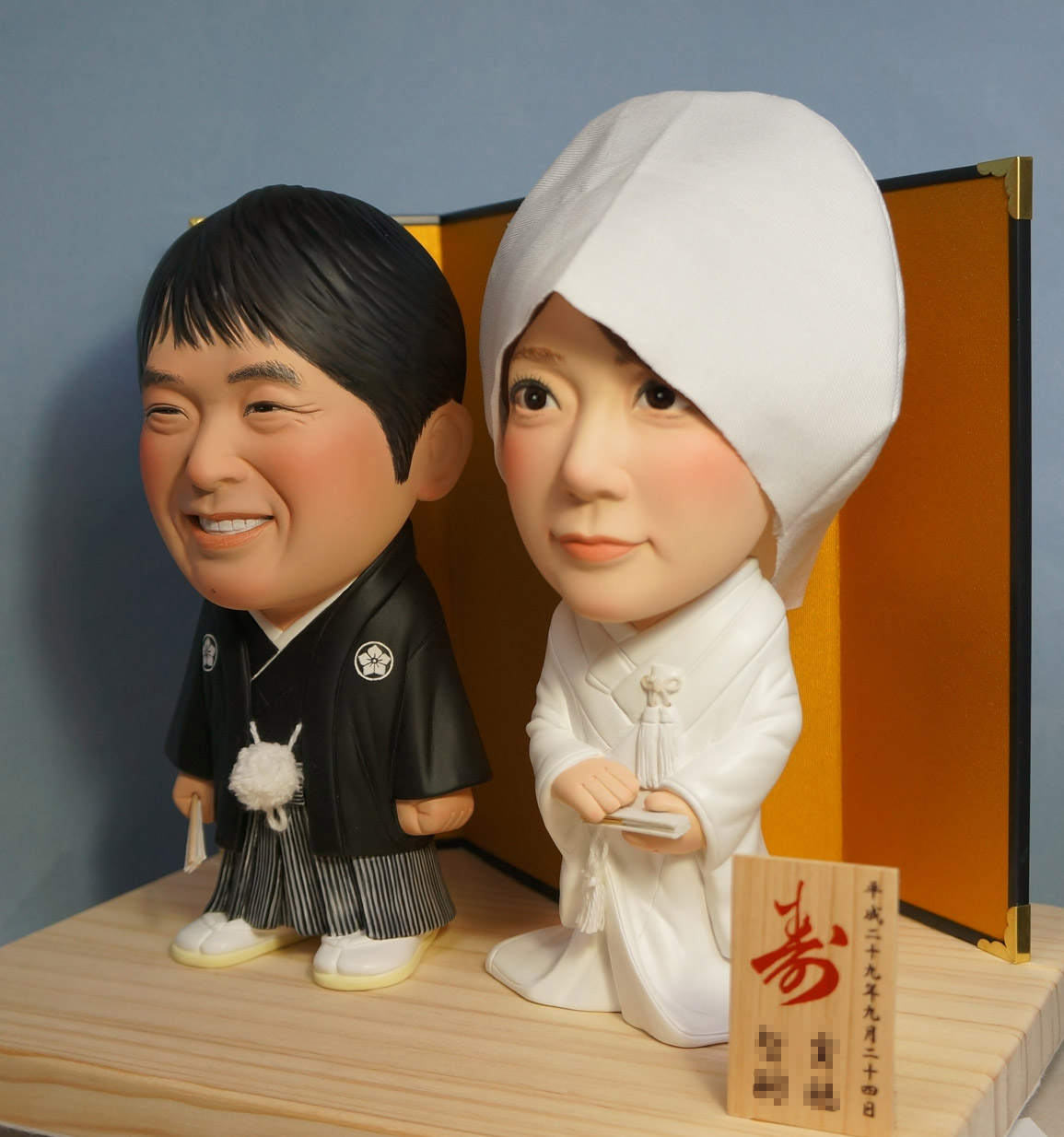 ウェルカムドール・素敵な和装・脱着式綿帽子-そっくり人形参考作品例-60-2