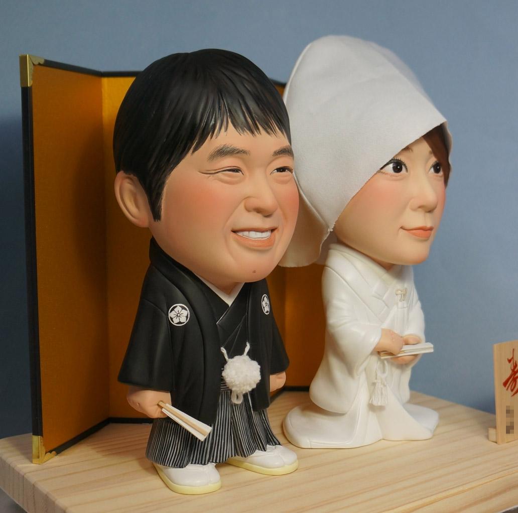ウェルカムドール・素敵な和装・脱着式綿帽子-そっくり人形参考作品例-60-3