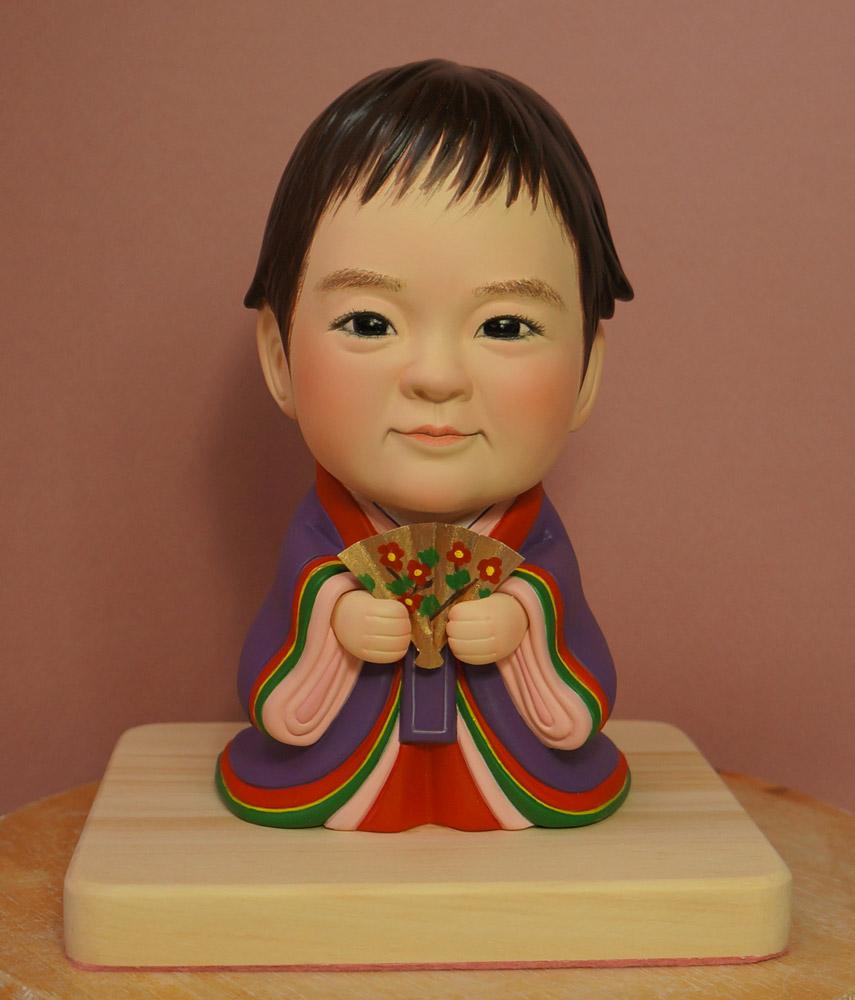 ひな人形(初節句)十二単(じゅうにひとえ)-そっくり人形参考作品例-61-1