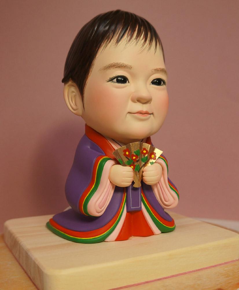 ひな人形(初節句)十二単(じゅうにひとえ)-そっくり人形参考作品例-61-2