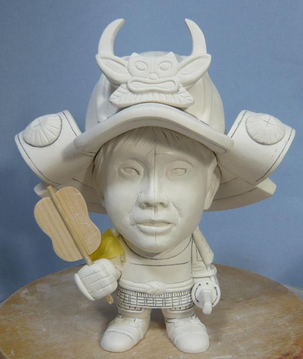 句人形!!かわいい鎧姿の制作過程-49