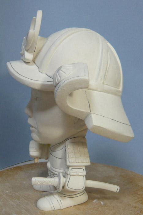 句人形!!かわいい鎧姿の制作過程-51