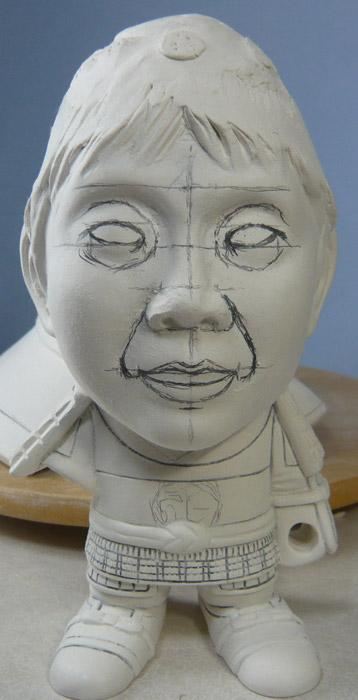 句人形!!かわいい鎧姿の制作過程-52