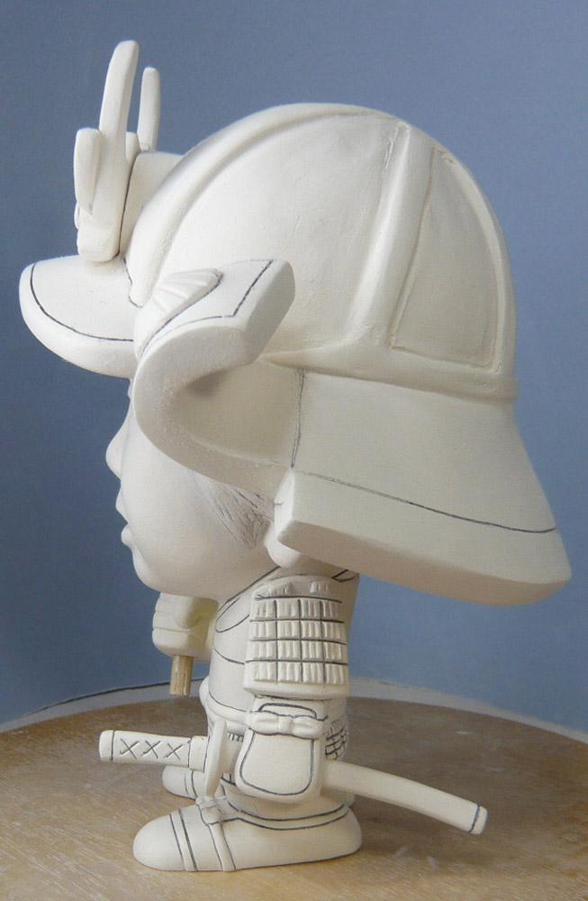 句人形!!かわいい鎧姿の制作過程-55