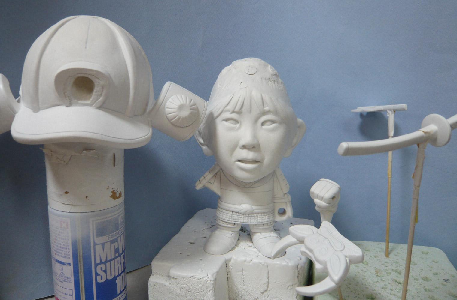 句人形!!かわいい鎧姿の制作過程-57