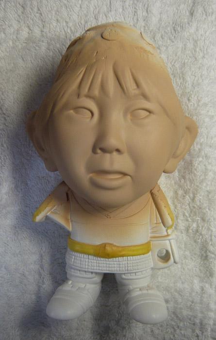 句人形!!かわいい鎧姿の制作過程-58