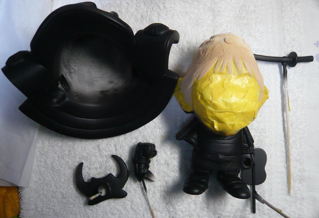 句人形!!かわいい鎧姿の制作過程-60