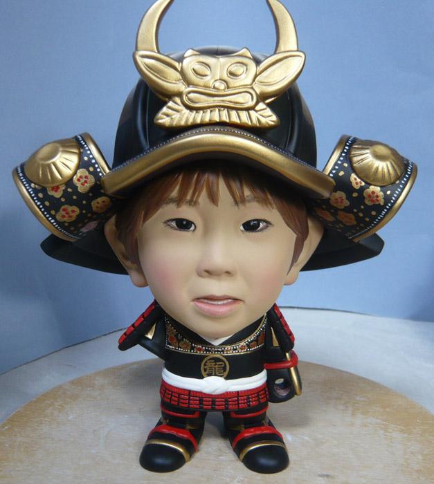 句人形!!かわいい鎧姿の制作過程-64