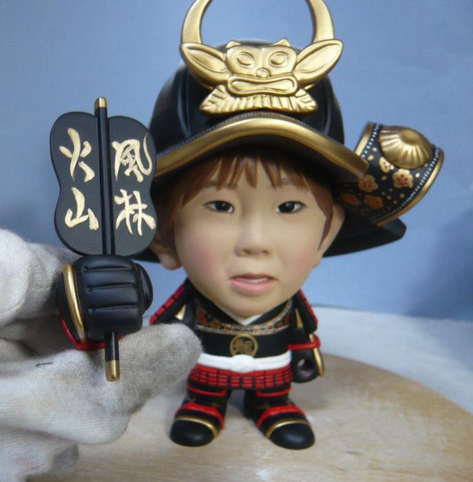 句人形!!かわいい鎧姿の制作過程-65